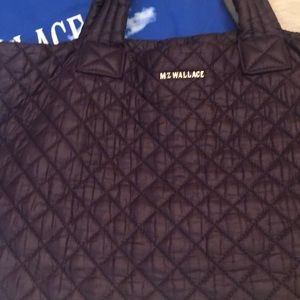 MZ Wallace quilted bag with dust bag
